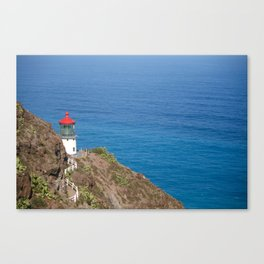 Makapuu Lighthouse Canvas Print