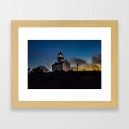 Old Point Loma Lighthouse  Framed Art Print