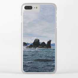 Deep ocean Clear iPhone Case