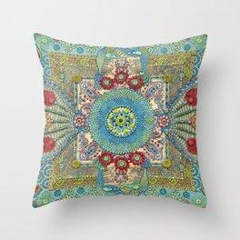 Guardians of a Sacred Spot Throw Pillow