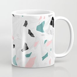 Shining, Spring Rose, Terrazzo. Coffee Mug