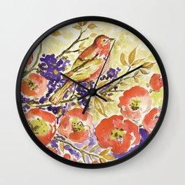 A little Bird! Wall Clock