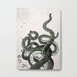 Octopus Tentacles Metal Print