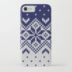 Winter knitted pattern 9 Slim Case iPhone 7