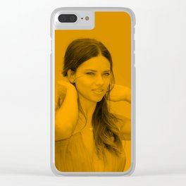 Adriana Lima - Celebrity Clear iPhone Case