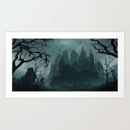 Black Keep Art Print