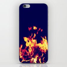 Blue Fire iPhone & iPod Skin