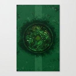 Dragon Mirror Canvas Print