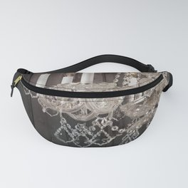 rustic barn wood western country chandelier Fanny Pack