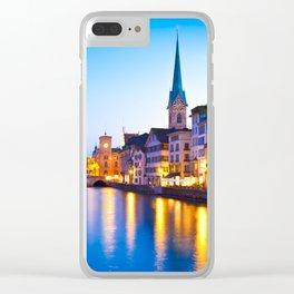 ZURICH 01 Clear iPhone Case