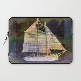 A Sailboat with a Story Laptop Sleeve