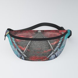 Strange path Fanny Pack