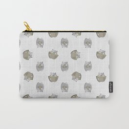 Green Tea Cats Carry-All Pouch