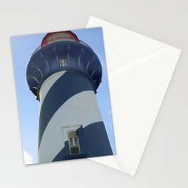 saint augustine lighthouse photography Stationery Cards