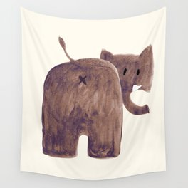 Elephant's butt Wall Tapestry