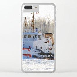 Katmai Bay Ice Breaker USCG Clear iPhone Case