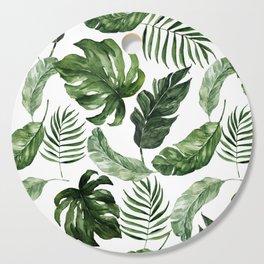 Tropical Leaf Cutting Board
