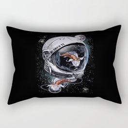 Fish Astronauts Rectangular Pillow