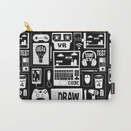 It's a Game Dev World Carry-All Pouch