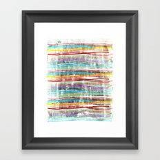 fancy stripes 3 Framed Art Print