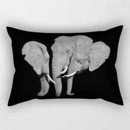 The Greeting Rectangular Pillow