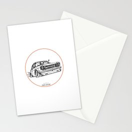 Crazy Car Art 0120 Stationery Cards
