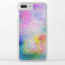 Abstract No. 308 Clear iPhone Case