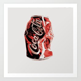 A can a day art print Art Print