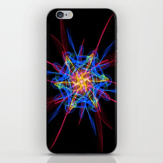 Silkweave / Neon Sigil 2 iPhone & iPod Skin