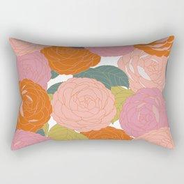 Flowers In Full Bloom Rectangular Pillow