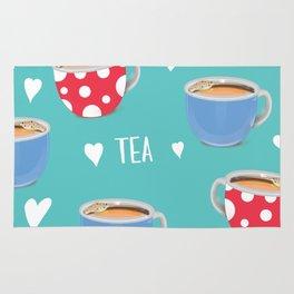 Love Tea Rug