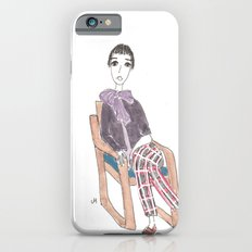 girl in a chair Slim Case iPhone 6s