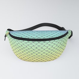Rainbow Fish Scales Fanny Pack