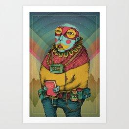 Holy Clown Art Print