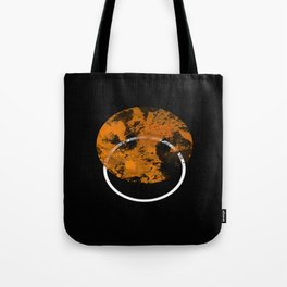Collusion - Abstract in black, gold and white Tote Bag