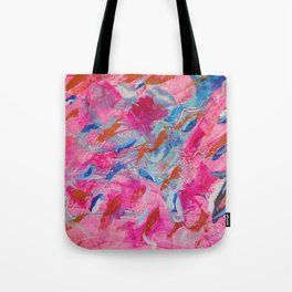 Flowing Feathers by Aeva Meijer Tote Bag
