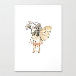 """JAPANESE CHIN FAIRY"" Canvas Print"
