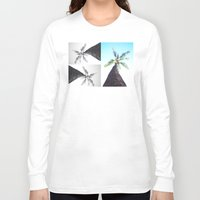 palm tree Long Sleeve T-shirts featuring Palm Tree by Ryssa Keola Asuncion