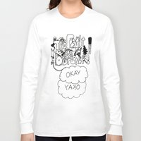 the fault in our stars Long Sleeve T-shirts featuring The fault in our stars by Madwolf