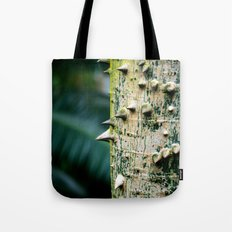 Thorny tree Botanical Photography Tote Bag