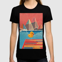 Little duck in the pool T-shirt