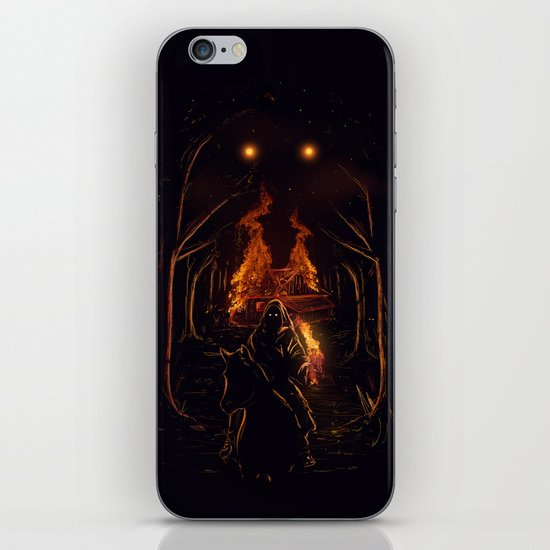 The Arsonist iPhone & iPod Skin