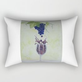 Metamorphosis - From Vine to Wine in the Finger Lakes Rectangular Pillow