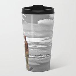 Gormleys Iron Man (Digital Art) Travel Mug