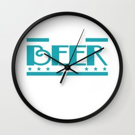 "Show your funny and humorous side with this cool tee! ""I Make Beer Disappear What s Your Superpower? Wall Clock"