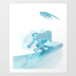 Rollerblade Inline Skates Art Print