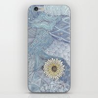 daisy iPhone & iPod Skins featuring Daisy by sinonelineman