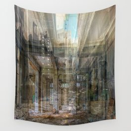 Panic Room Wall Tapestry
