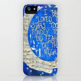 Amant d'étoile - Star Lover  iPhone Case