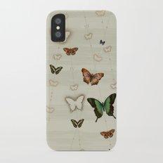 Butterfly Coordinates iii iPhone X Slim Case
